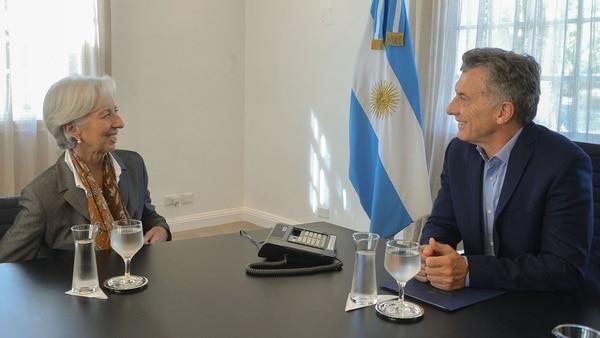 Antes de lo esperado, Macri ya se fue al Fondo