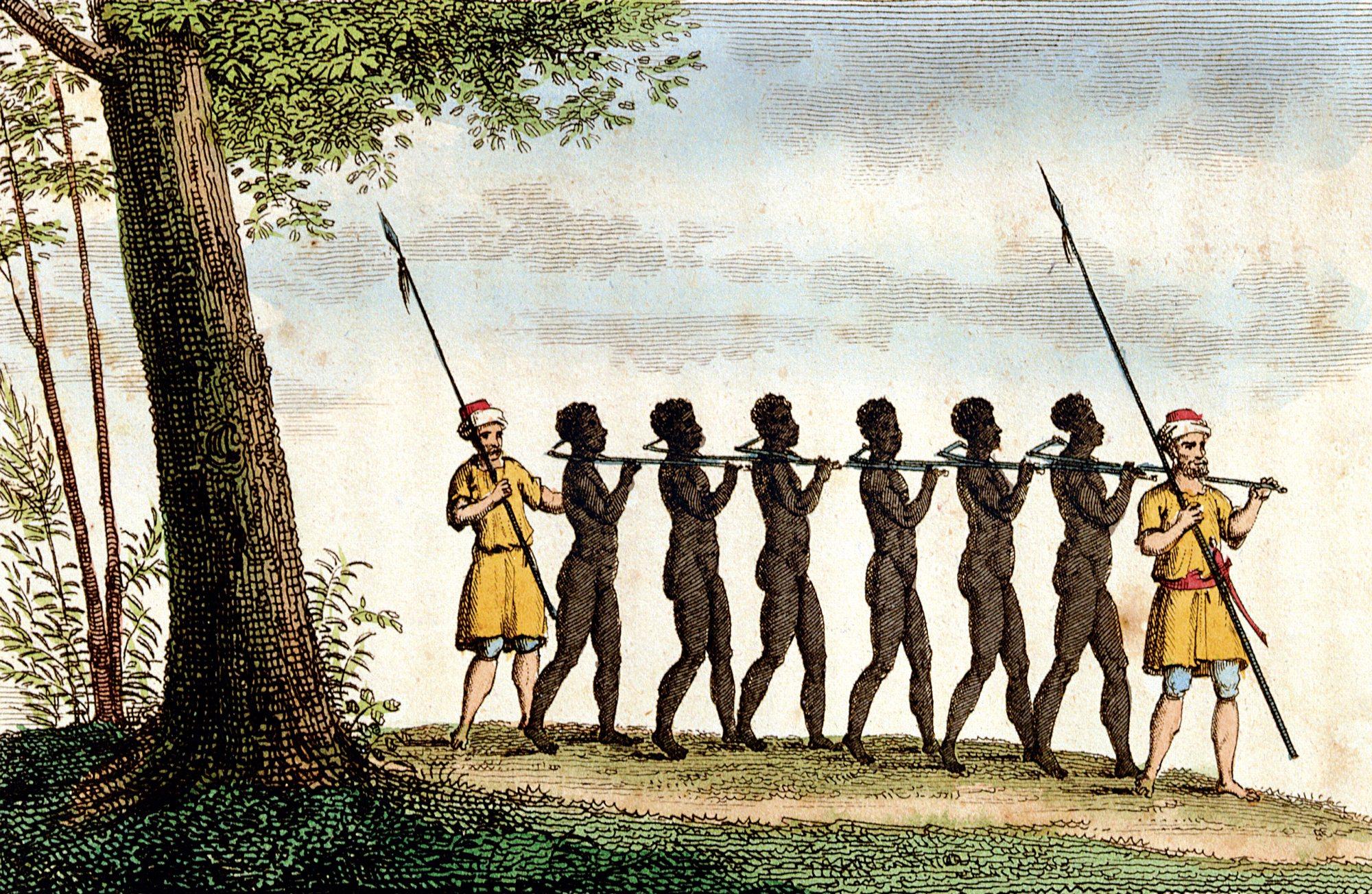 Muchos esclavos y pocos amos