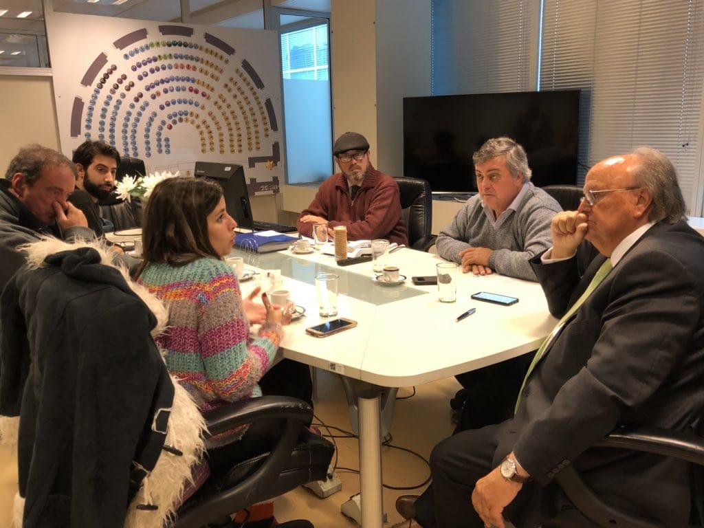 Gacetilla de Prensa: El Presidente De La Comisión De Industria Recibe A Delegadxs Del INTI