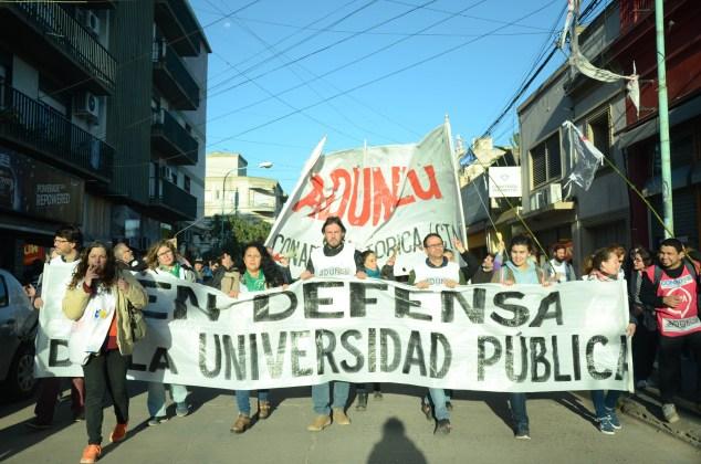Luján movilizada en defensa de la educación pública