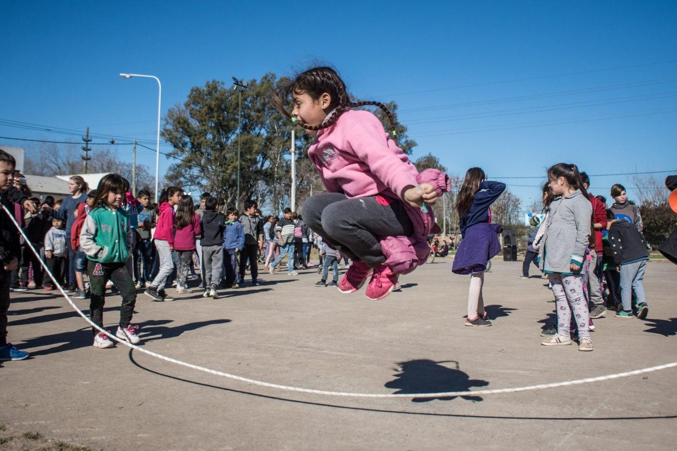 Ameghino organizado: para que la niñez se divierta, para que el gobierno se haga cargo