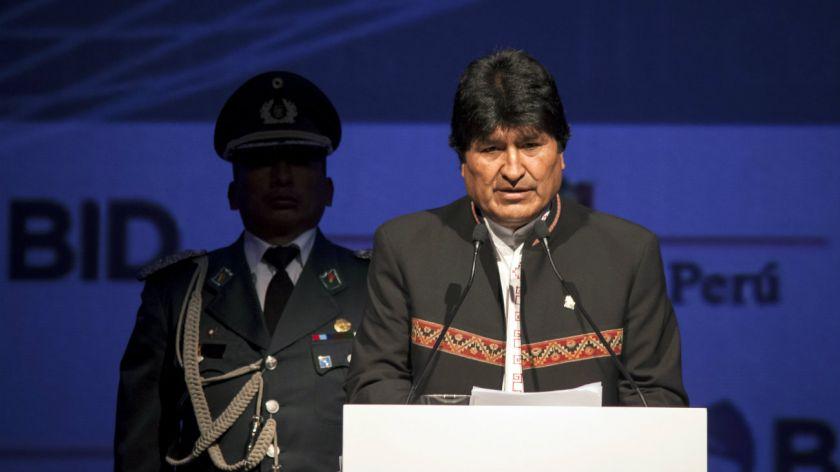 Aquí pues yo, Evo Morales