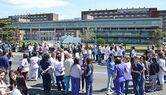 Están queriendo privatizar el hospital