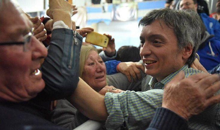 Máximo Kirchner visitó el distrito y cerró un acto de Unidad Ciudadana