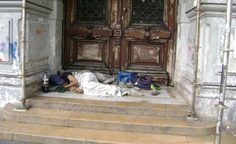 El gobierno expulsa a las personas en situación de calle por el G20