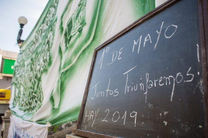 El camino es la unidad: olla y fiesta popular para festejar el día del trabajador
