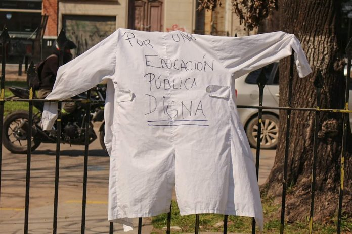 2 de agosto: se declaró una fecha en defensa de la escuela pública, digna y segura