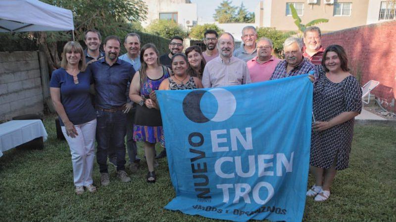 Leo Boto recibió a Martín Sabbatella en su visita Luján