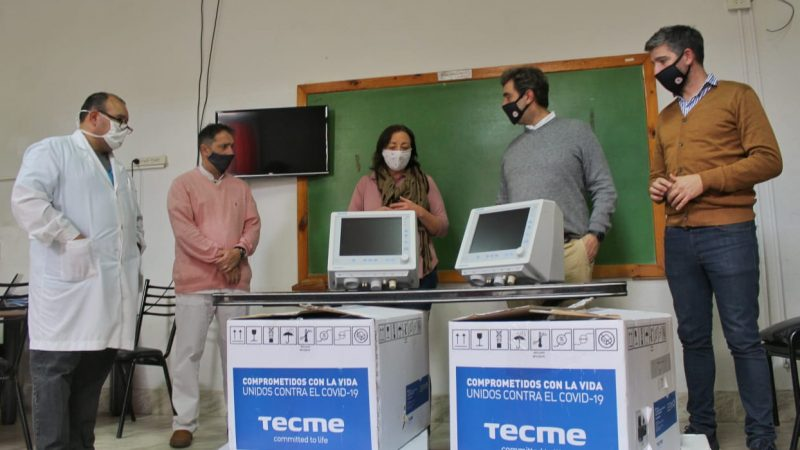 Coronavirus: Luján suma dos nuevos respiradores al Hospital Municipal