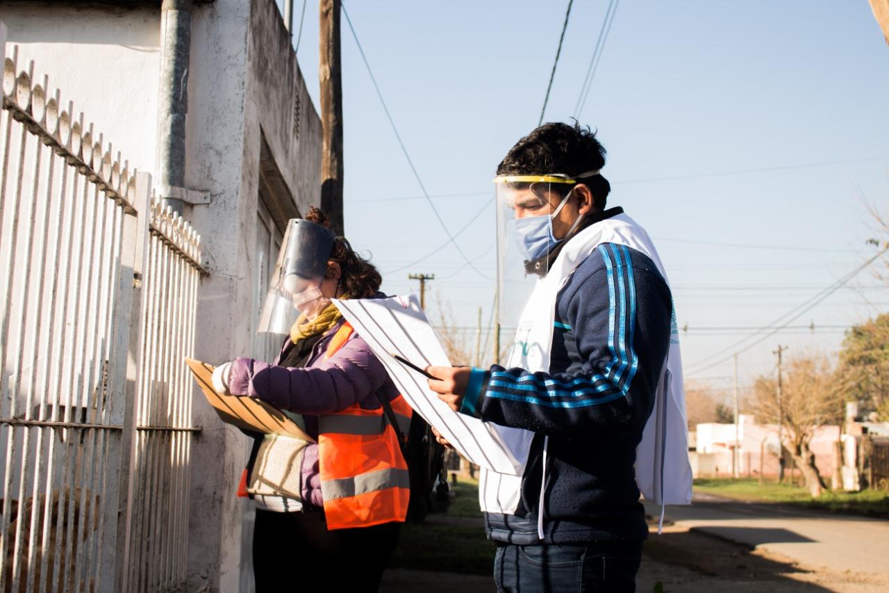 Plan Detectar: más de 600 casas relevadas en San Fermín, San Jorge y Santa Marta