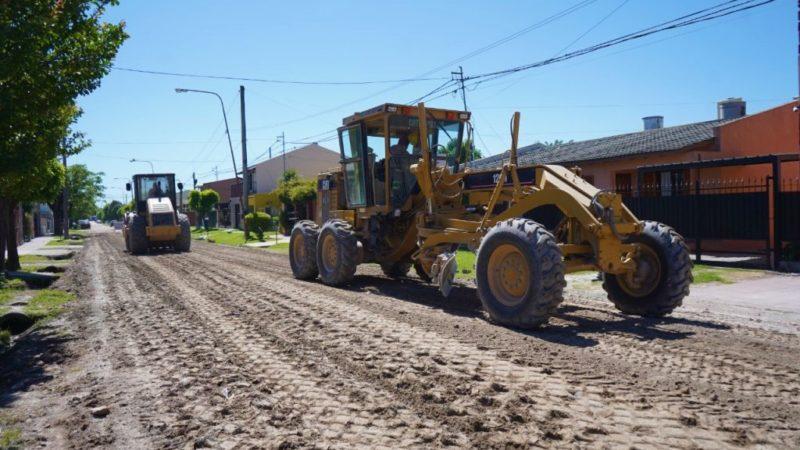 Plan de Obras: Reparación de Calles en el Barrio Lanusse