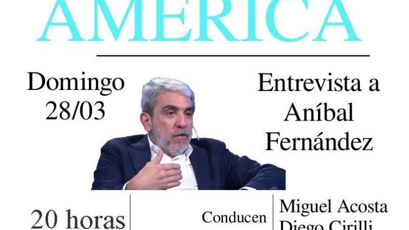 Entrevista a Aníbal Fernández