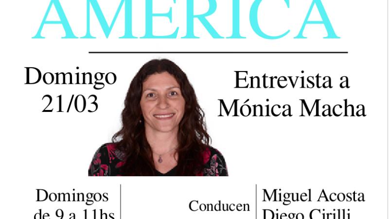Entrevista a Mónica Macha