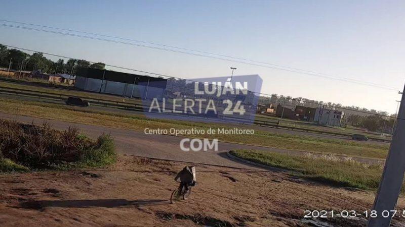 Con la colaboración del COM, la Policía encontró a Maia y a su captor en Luján