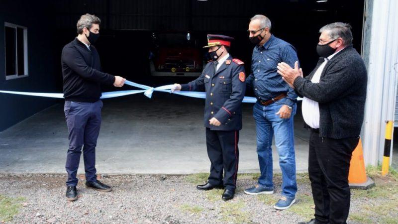 Se inauguró el nuevo Destacamento de Bomberos en la localidad de Open Door.