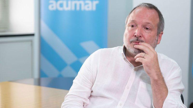 """Martín Sabbatella, presidente de Acumar: """"Ir a tomar mate a la orilla del Riachuelo es seguro"""""""