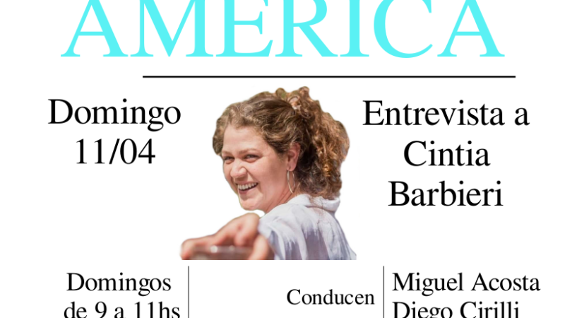 Entrevista a Cintia Barbieri