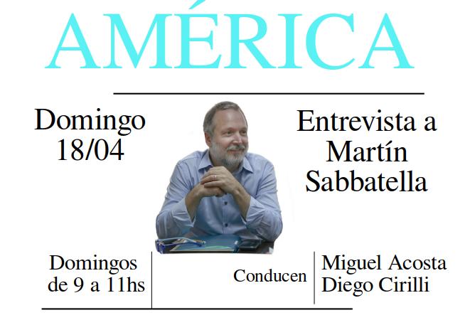 Entrevista a Martín Sabbatella
