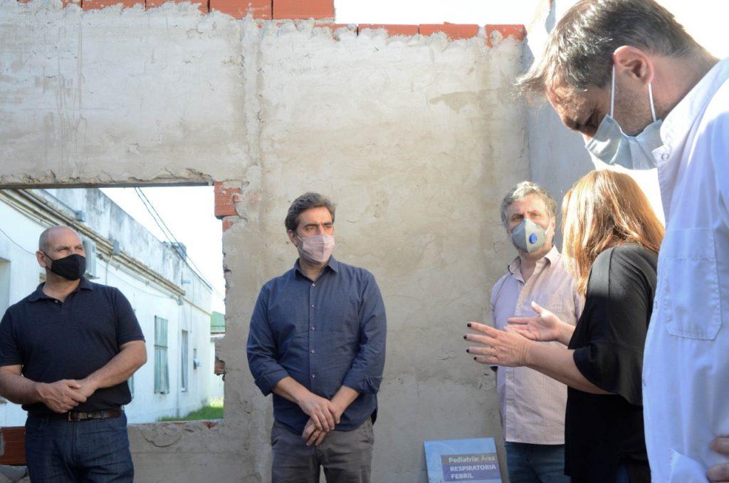 Hospital: comenzó la construcción de nuevas habitaciones de Internación Clínica