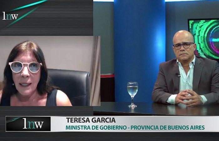 """Teresa García: """"La decisión del intendente de Capital Federal es para ser correspondiente con su jefe político"""""""