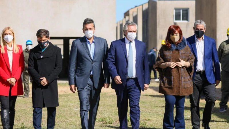 """Alberto Fernández con Cristina Kirchner y Sergio Massa: """"Esta es la foto de la unidad de los que queremos poner de pie a la Argentina"""""""