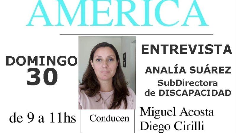 Entrevista a Analía Suárez