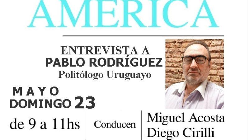 Conversatorio con Pablo Rodriguez
