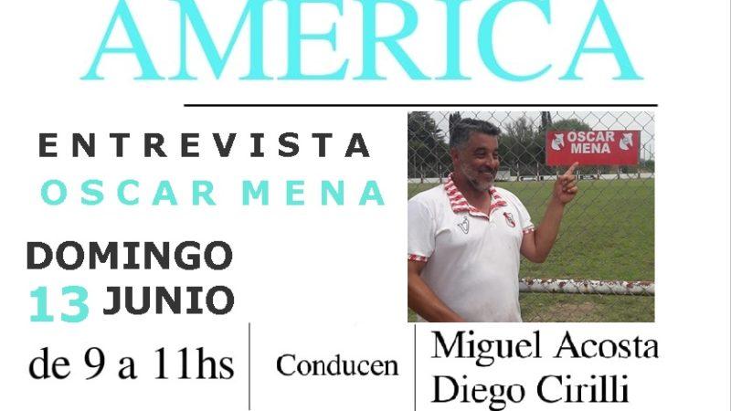 Entrevista a Oscar Mena