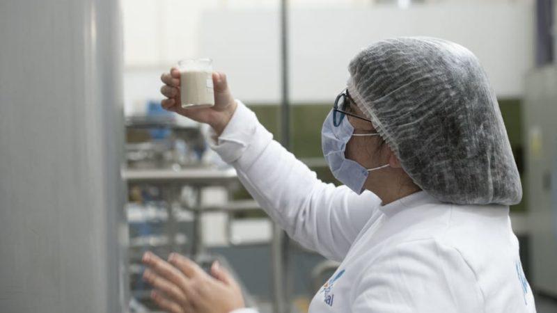 Producción: el Intendente participó del lanzamiento del primer alimento bebible a base de quinoa en el mercado argentino