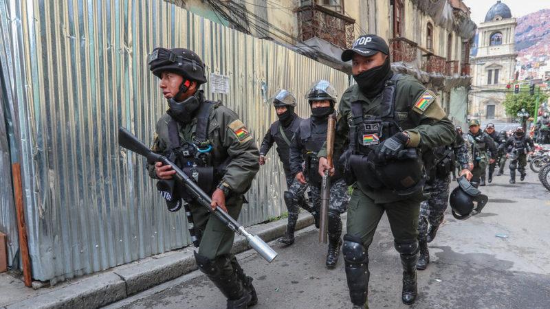 Bolivia: encuentran 29.600 balas antitumulto que había donado Mauricio Macri para el golpe contra Evo Morales