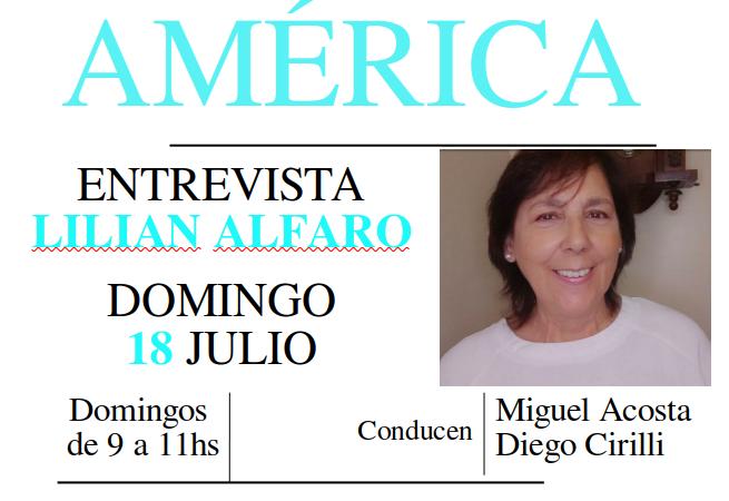 Entrevista a Lilian Alfaro
