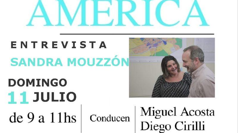 Entrevista a Sandra Mouzzón
