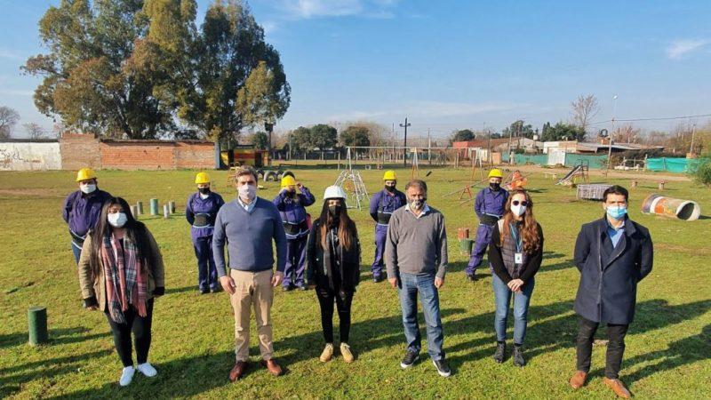 El Municipio construirá un playón deportivo en el barrio San Pedro