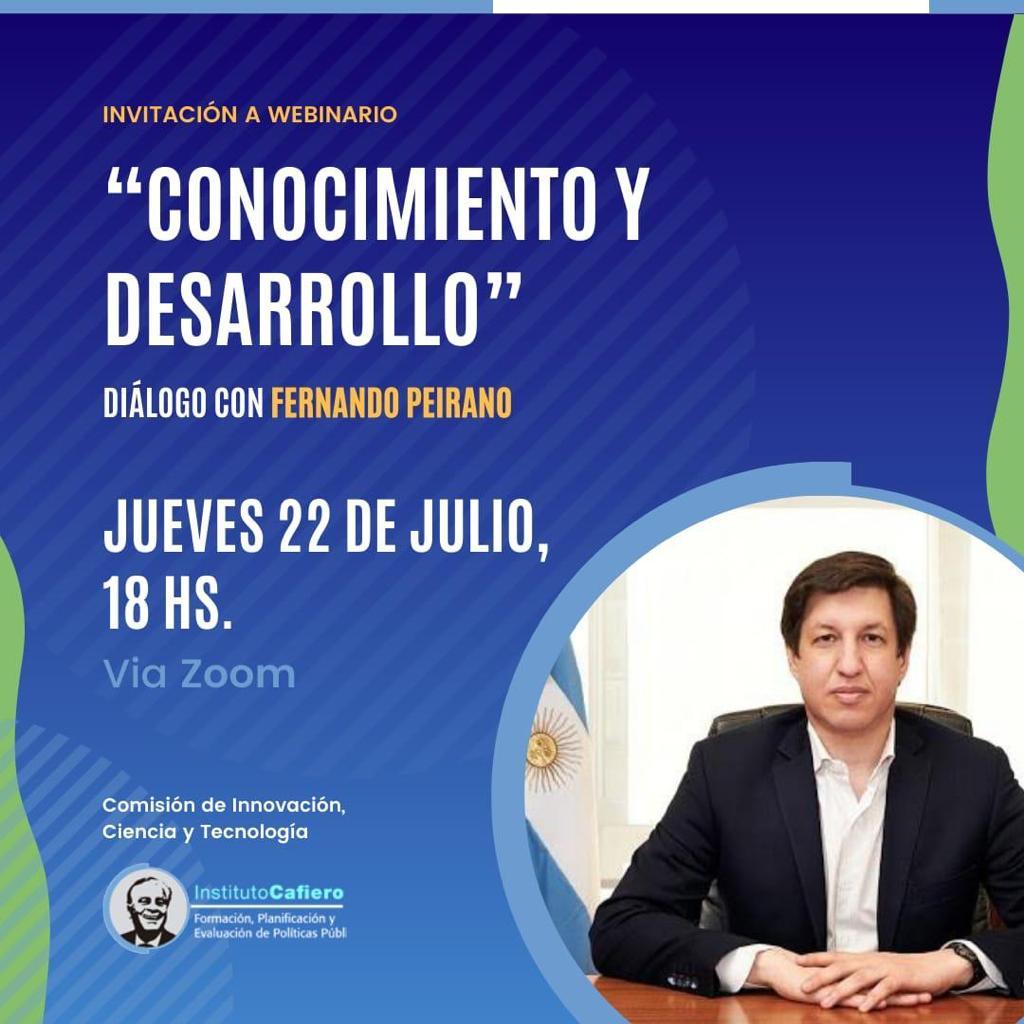 """""""Conocimiento y Desarrollo"""": un diálogo para recorrer la agenda científico-tecnológica"""