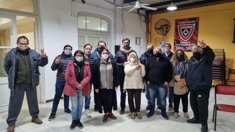 Nuevo Encuentro Luján se reunió con el Intendente Leonardo Boto