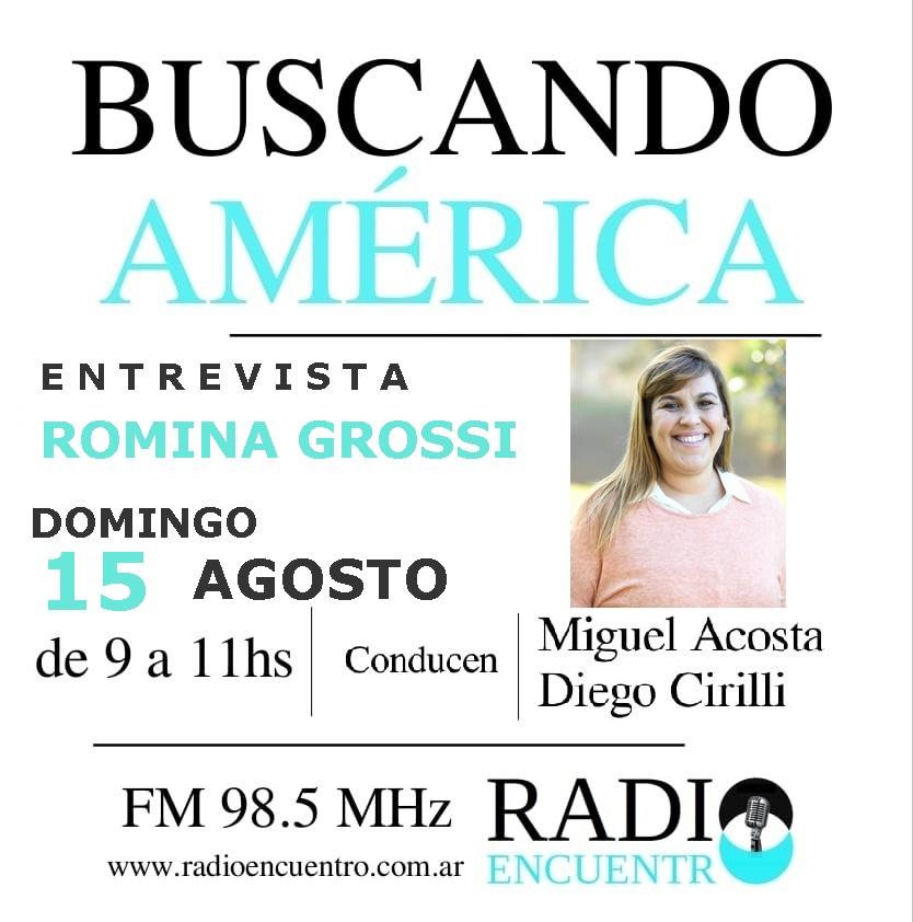 Entrevista a Romina Grossi