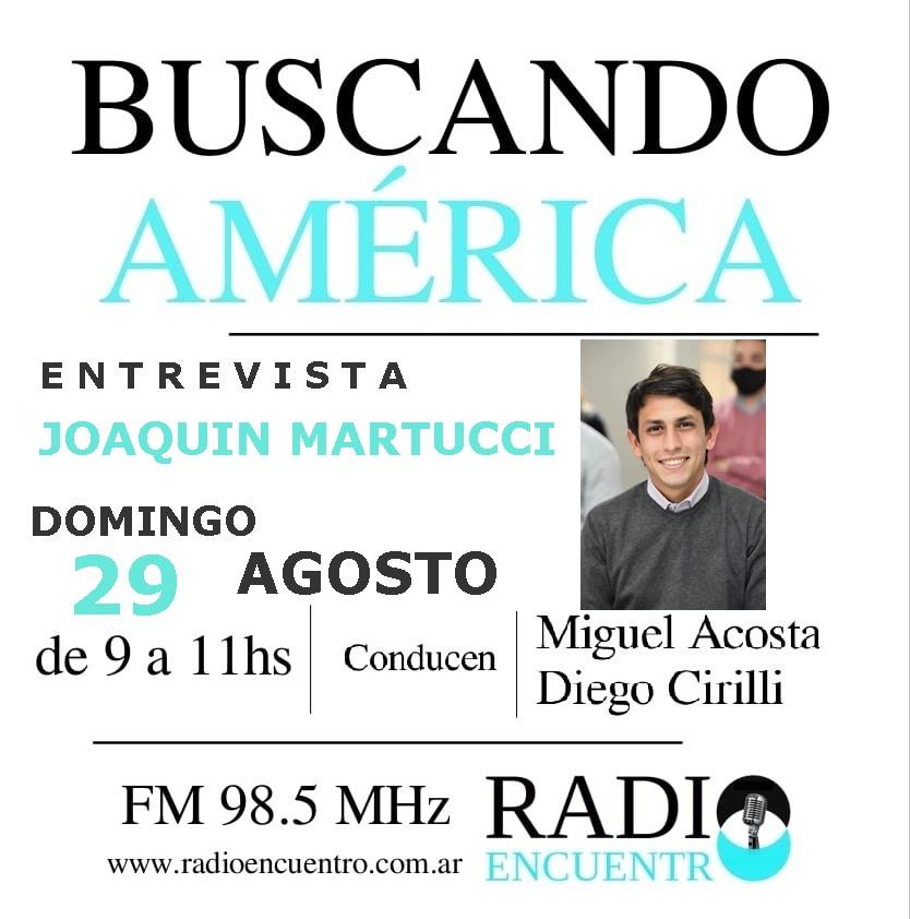 Entrevista a Joaquín Martucci