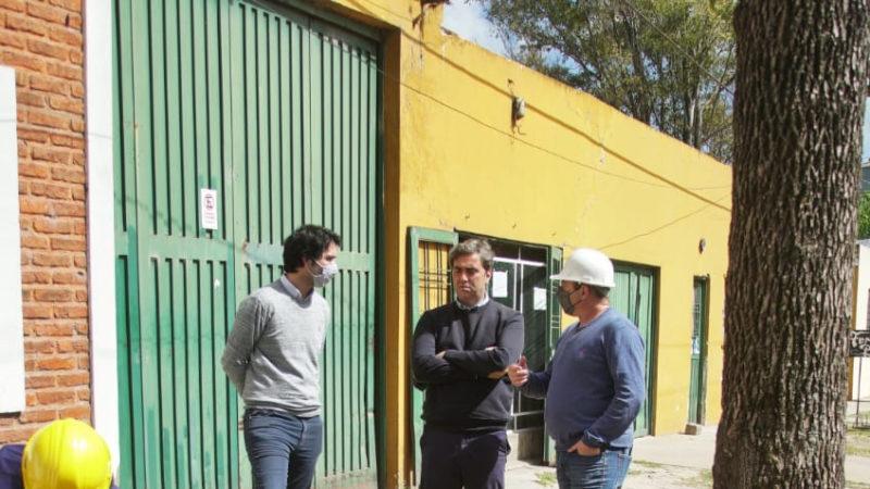 El Municipio inició la construcción de la nueva red de agua de Open Door